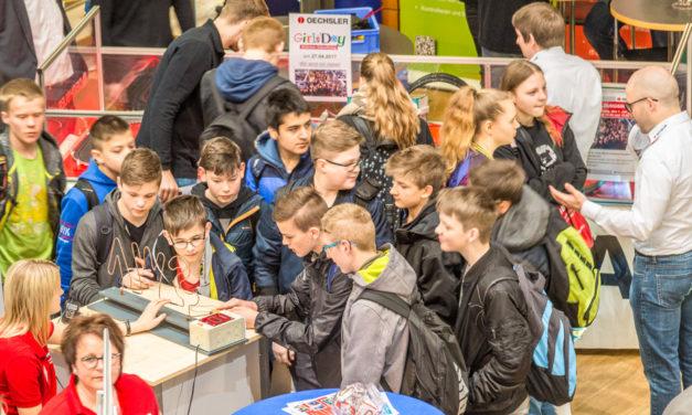 Rekord: 18. Ausbildungsbörse lockte etwa 2000 Schüler zum Besuch