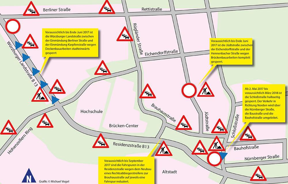 Stau- Stadt Ansbach …?