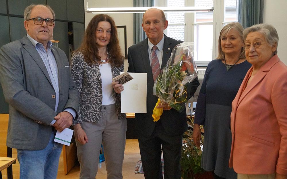 Heinz Kötzel erhält Ehrenzeichen des Bayerischen Ministerpräsidenten