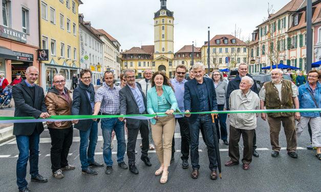 Maximilianstraße und Promenade mit Straßenfest eingeweiht