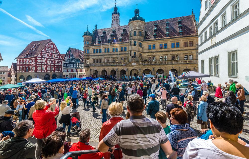Rothenburg feierte den Einzug des Frühlings