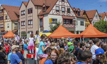 Bürgerfest 2017 und 55. Jubiläum der Städtepartnerschaft mit Frankenmuth (USA)