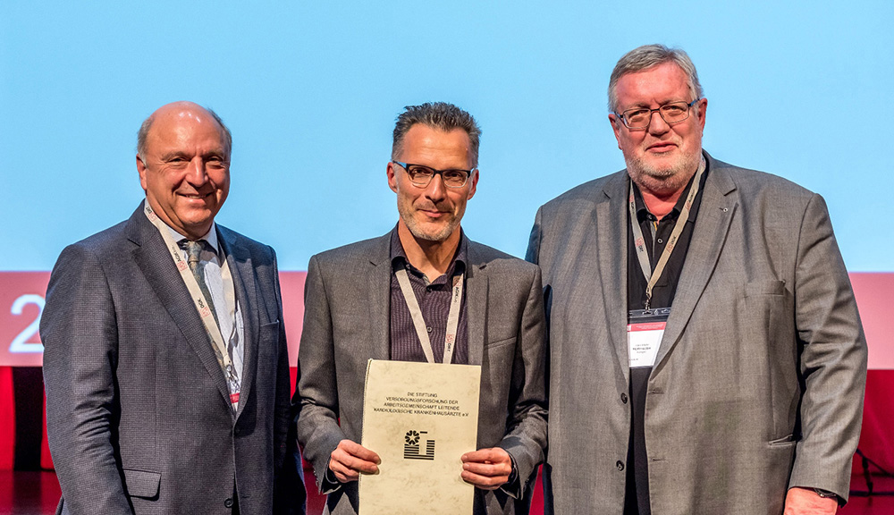 ANregiomed-Kardiologe PD Dr. Wacker erhält renommierten Förderpreis