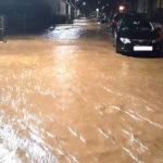 Massive Überschwemmung in Ansbach