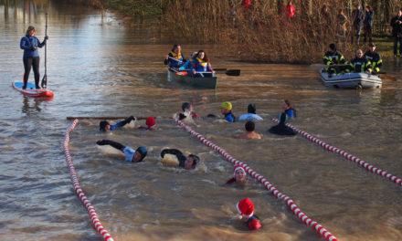11. Neujahrs-Eisschwimmen in Herrieden