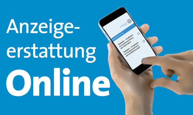 Ab sofort möglich: Anzeigenerstattung online