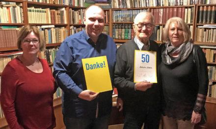 """Ehrung für Gunzenhäuser """"Kulturpapst"""" Diethelm Schoen"""