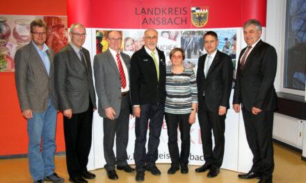 Engagierte Ehrenamtliche des Landkreises Ansbach geehrt