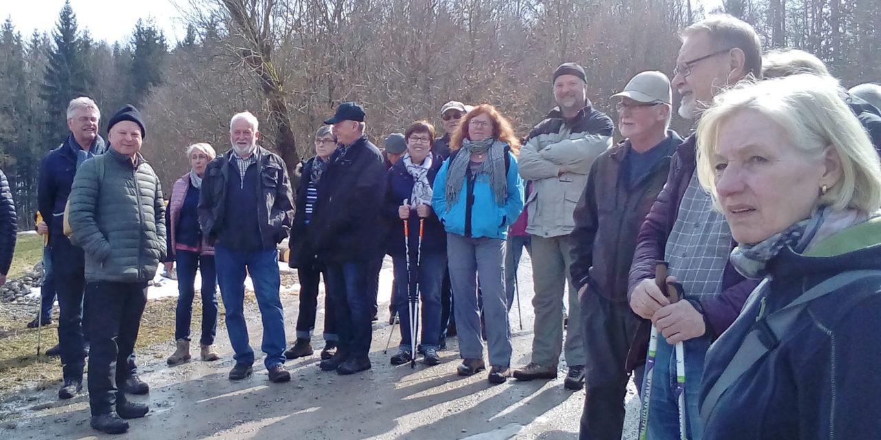 Endlich Frühling – Auftakt der Wandersaison im Naturpark Frankenhöhe