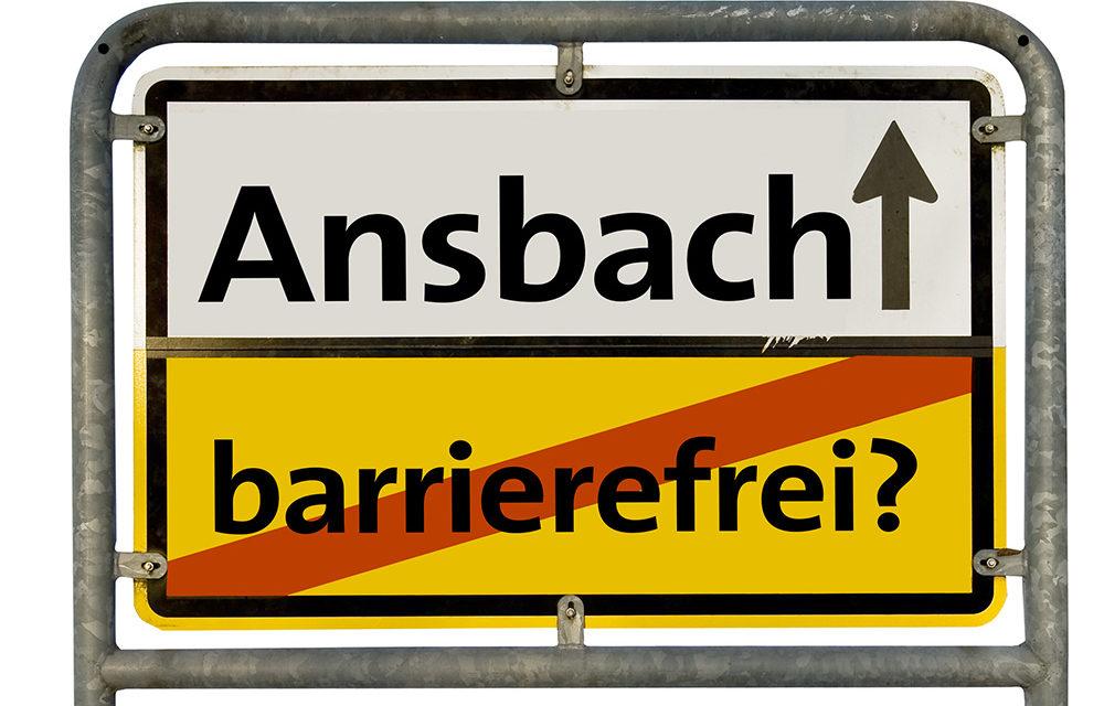Ergebnis der Behinderten-Fragebogenaktion wird in Ansbach vorgestellt