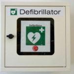 Der Defibrillator – wichtiges Erste-Hilfe Gerät in der Sparkasse Gunzenhausen