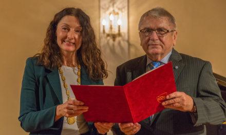Klaus Dieter Breitschwert ist Ehrenbürger Ansbachs