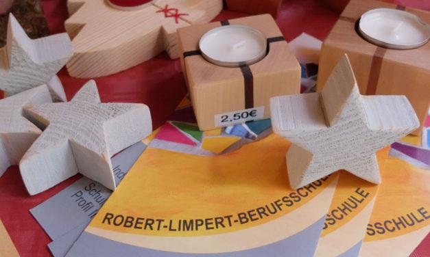 Robert-Limpert-Berufsschule öffnet Verkaufsstand auf dem Ansbacher Weihnachtsmarkt